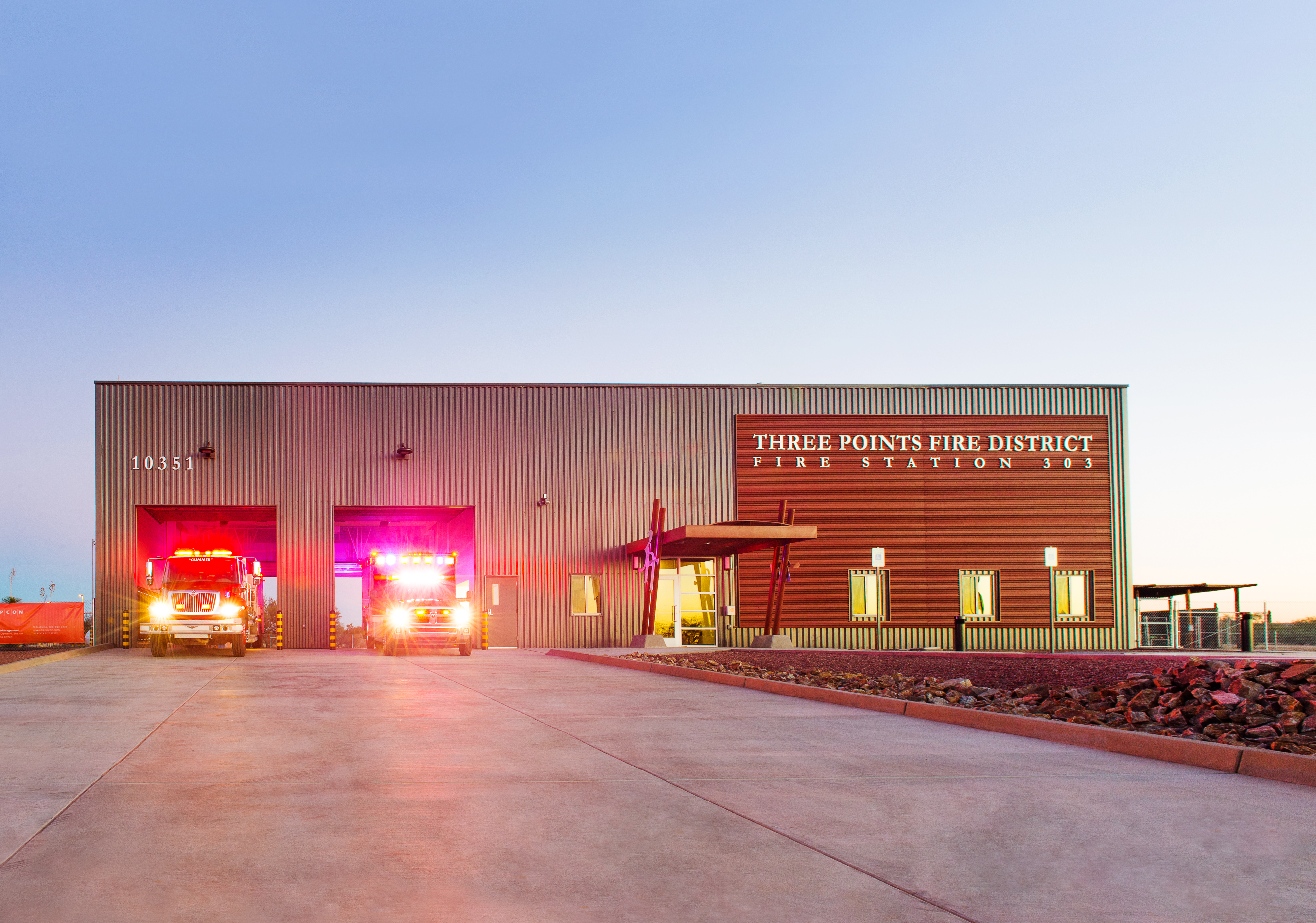 3 Points Fire Station-6